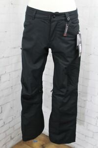 686 Mid-Rise Snowboard Pants, Women's Size Small, Black New