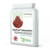 Astaxanthin 42mg AstaPure Oil 60 Soft Gel Capsules skin protection,Anti-aging