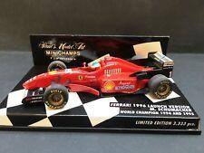 Minichamps - Michael Schumacher - Ferrari - 1996- Launch Version - 1:43 - Rare
