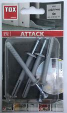 2 Packungen TOX Dübel Wanddübel Allzweckdübel Tetrafix 6//50mm Projekt 522