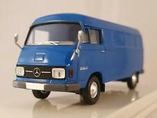 Brekina Starmada Mercedes Benz L 206 D Kasten blau 1:87 H0 13300