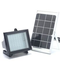 Bizlander Premium 60 Led Spot Solar Flood Light For Farm Sheds, Commercial Signs