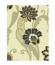 Shand Kydd Ii Sk153182 Floral Black Silver Gold Gray Blue Mountain Wallcoverings
