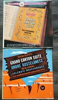 Lot of 2 Ferde Grofe Records Grand Canyon Suite Oslo Philharmonic Columbia