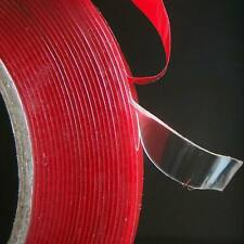 10m Double-sided Clear Transparent Acrylic Foam Adhesive Tape Long 3M