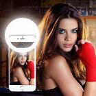 Ring Light Camera Rechargable Battery Selfie LED Light 36 LED For iPhone LG Lot