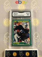 1989 Score Tim Brown #328 Record Breaker Rookie - 10 GEM MINT GMA Graded Card