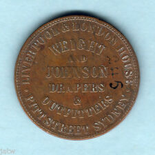 Australia Token.  Weight & Johnson.. 1d -  Sydney NSW..  F+/F