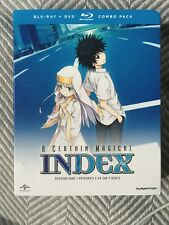 A Certain Magical Index: Season One (Blu-ray/DVD, 2014, 7-Disc Set) BRAND NEW