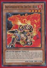 3x Yugioh CT10-EN008 Brotherhood of the Fire Fist - Bear Super Rare Card