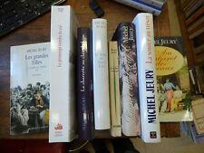 lot de 8 livres de Michel Jeury : au cabaret des oiseaux - la source au trésor
