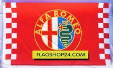 Free Ship to USA ALFA ROMEO RED FLAG BANNER 3X5 FEET MITO BRERA GT Giulietta 4C