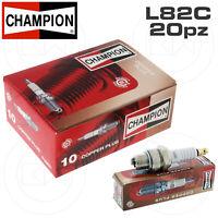 KIT 20 CANDELE CHAMPION L82C = NGK B6HS P86M VESPA 50 SPECIAL R L N PK S XL V N