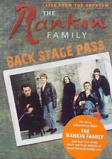 The Rankin Family: Backstage Pass (DVD, 2006) NEW oop very rare