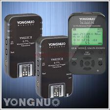 Yongnuo YN622C II + YN622C-TX Flash Trigger Controller HSS TTL for Canon Camera