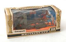 VINTAGE Britains antiche macchine d'assedio-Catapulta No.4675 * Inscatolato *