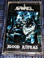 SAMAEL - Blood Ritual. VG+ Cassette Tape Rare Black Metal Century Media Official