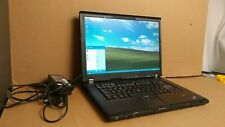 "Ibm Thinkpad Lenovo T61p Laptop Windows Xp Pro Operating system 15.4"" Lcd Office"