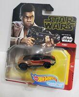NEW Star Wars - Hot Wheels character car  (Finn) The Rise of Skywalker