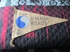 WWII USA D-DAY 29 TH INF DIV 6 TH JUNE 1944 OMAHA BEACH    FLAG PENNENT