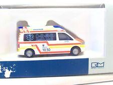 Rietze 1/87 51868 VW T5 Ambulance ORMS Münchberg OVP (RB9643)