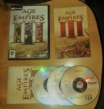 Age of Empires III (3) for the PC, CD-ROM (Windows) - Complete, VGC
