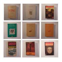 9 Libros Novelas Zweig Simenon Agatha Delerm Marcel Pagnol N3503