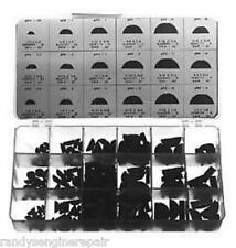 WOODRUFF KEY 250 pc ASSORTMENT SMALL ENGINE REPAIR