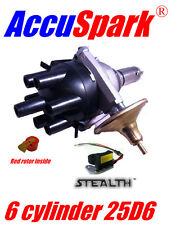 Triumph GT6 AccuSpark electronic Distributor replaces Lucas 25D6 +  Red Rotor