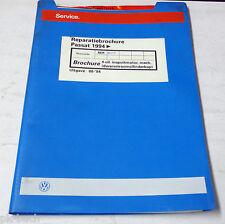 Reparatiebrochure VW Passat B 4 Inspuitmotor 4-cilinder Dwarsstroomcilinderkop