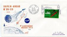 1973 Super-Arcas 35/23 8° Lancement Meteo Kourou Guyane Francaise SPACE NASA