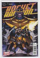 Marvel Comics Rocket Raccoon Variant Cover #1 Loot Crate Thanos Exlusive