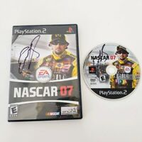 PS2 Nascar 07 Playstation Racing Game Signed by ELLIOTT SADLER Autograph!!