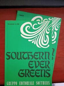 """🎼 CANZONIERE """"Southern Ever Greens"""" per strum. in DO COMPRESO VOLUMETTO TESTI"""