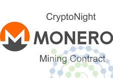 12 hours Monero Cryptonight 510H/s / Cryptonight v7 Mining Contract rent 210H/s