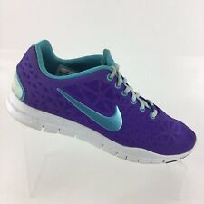 c9dccd49543c Nike Free Tr Fit 3 Breathe Purple Turquoise Training Womens 8.5 Shoes R5S6