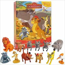Licensed Story Book Set: The Lion Guard The Lion King Figure Play Set and Book