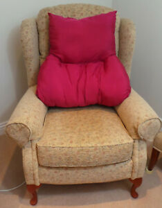 Armchair Backrest , Orthopedically  T Shaped Back Support Cushion