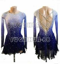Figure Skating Dress Women's Girls' Skating Dress Long sleeve