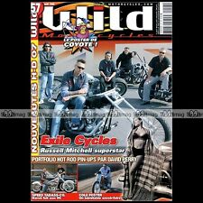WILD MOTORCYCLES N°57-b HARLEY SHOVEL BOBBER COLE FOSTER ★ POSTER COYOTE ★2006