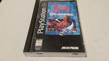 x-com ufo defense playstation1 LONG BOX COMPLETE