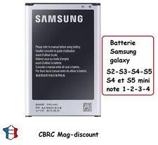 BATTERIE NEUVE pour SAMSUNG GALAXY S2 à S4 , mini , note