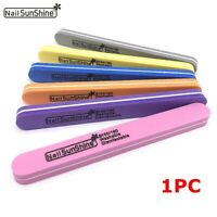 Double Sided Professional Pedicure Nail Files Sanding Buffer Manicure Nail Care