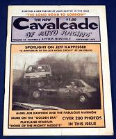 September 1975 Cavalcade of Auto Racing Magazine Jeff Kappesser  Joe Dawson etc.