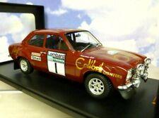 IXO 1/18 COLIBRI FORD ESCORT MKI MK1 RS1600 #1 RAC RALLY 1974 T.MAKINEN/H.LIDDON