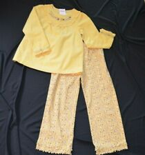Gymboree AUTUMN HIGHLANDS Yellow Top and Pants Set NWT 5T Adorable corduroy top