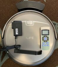ILIFE A4s Cordless Robotic Vacuum Cleaner w/ Remote and Charging Cradle