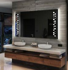 Moderne Miroir Salle De Bain Avec LED Illumination Éclairage Miroirs Muraux L65
