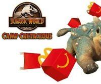 McDonalds Happy Meal Toys Jurassic World Dinosaurs 2020 Official McDonald's BNIP