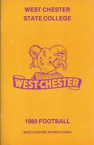 1980 West Chester Rams Football Media Guide HC Otto Kneidinger